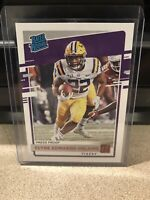 Clyde Edwards-Helaire RC Rated Rookie Press Proof Red 2020 Chronicles Draft