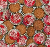 Soda pop bottle caps Lot of 25 DIET DOUBLE COLA cork lined unused new old stock