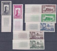Colonies françaises - Fezzan - n° 43 à 49** ND