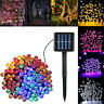 17/22M 72ft 200LED Outdoor Solar Power String Light Garden Christmas Fairy Decor