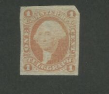 1862 United States Internal Revenue Telegraph Stamp #R4a Used F/VF Faded Cancel