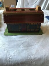 Vintage Holgate Wooden House With Blocks Toy
