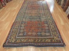 5' 6 x 11' 10 ANTIQUE RUG TURKISH WORN WOOL ORIENTAL RUG AREA RUGS FREE SHIPPING