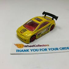 2006 Honda Civic Si * Yellow * LOOSE * Hot Wheels * F300