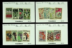 TUNISIA FOREST WORLD CONGRESS, PEACE CONGRESS MIXED COLLECTION OF 15v MNH STAMPS