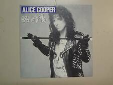 """ALICE COOPER: Bed Of Nails 4:20-Spain 7"""" 89 Epic CBS Records Inc. 1-Sided DJ PSL"""