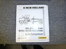 New Holland G140 G170 G200 RG140B Grader Shop Service Repair Training Manual