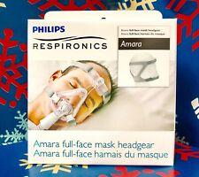 NEW Headgear for Respironics Amara SILICONE & GEL Mask Standard 1090297