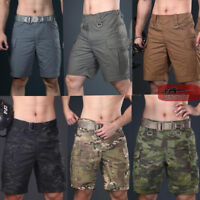 Men's Army Military Tactical Shorts Combat Cargo Short Pants City Casual Outdoor