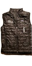 Men's Patagonia Nano Puff Vest  Black Shell Polyester Quilted -read description