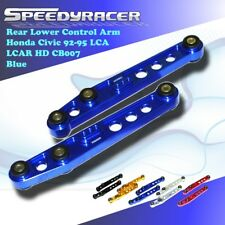Fit 88-95 Civic 88-91 Crx 93-97 Del Sol Emusa Rear Lower Control Arm Lca Blue