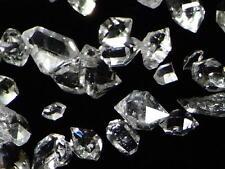 ca. 30Stück Exzellente Glasklare Herkimer Diamamten 50Karat Heilwasser *AAAAA*