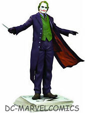 DC Comics The JOKER DARK KNIGHT BATMAN STATUE Heath Ledger MIB!! Rises  BATMAN