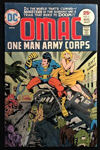 DC Super-Stars OMAC One Man Army Corps  Vol.2 #6  Jul/Aug 1975  4 Chapters  8.0