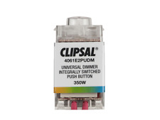 Clipsal Saturn 4061E2PUDM 4000 Series Light Dimmer Mechanism