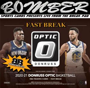 Toronto Raptors 2020-21 Panini Optic Fast Break Basketball 5-Box Break 3