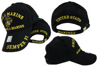 USMC EGA Semper Fi Fidelis Once A Marine Always a Marine Cap Hat Marines