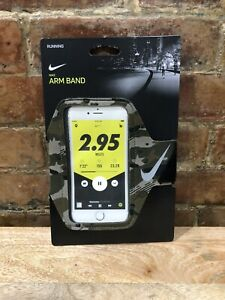 NEW! Nike Running Phone Pocket Arm Band Camo- Fits Most Cell Phones