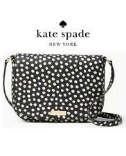 U.S. BOUGHT Kate Spade Laurel Way Large Carsen Musical Dot Crossbody Bag Wkru451