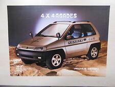 Catalogue HEULIEZ 4x4 AGADES