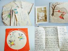 17 deutsche Briefe aus den USA 1933-38 (v.a. CHICAGO) nach D / FLAD & WIELAND