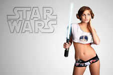 Star Wars Hot Sexy Girl ART SILK POSTER 24x36