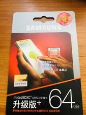 Carte Memoire Micro Sd Samsung 64go Neuve Universel Tous Supports