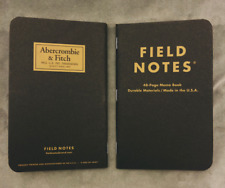 Field Notes x Abercrombie & Fitch SEALED 3-Pack Memo Notebooks - Limited