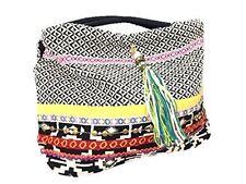 All'Asta Womens Purse Taj Brocade Woven Hobo Shoulder Handbag Tapastry Bag