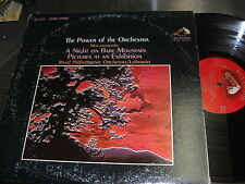 RENE LEIBOWITZ RCA VICTOR LIVING STEREO LP VCS-2659 MOUSSORGSKY POWER OF ORCH