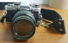 Olympus Om-10 35mm Slr Film Camera with Lens