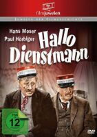 HALLO DIENSTMANN - HOERBIGER,PAUL   DVD NEW