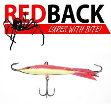 Redback Ice Jigs 21gm /65mm Rapper Red redfin ice jig lures