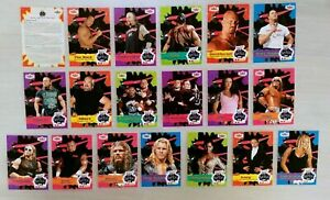 2001 FLEER WWF/WWE GET REAL WITH KB TOYS Exclusive Promo Cards COMPLETE SET