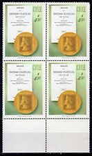 CHILE 1981 STAMP # 1006 MNH PHILATELIC SOCIETY BLOCK OF FOUR