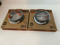 "Lot Of 2 - Halo E26 6"" Recessed Lighting Tapered Baffle W/Flanged White Trim LED"