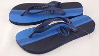 Havaianas Blue Dark Blue Striped Flip Flop Sandals Size 39-40 UK 6-7 EU 41/42