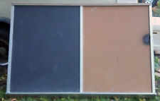 Chalkboard Bulletin Board Combo With Chalk Tray For Homeschool Office Daycare