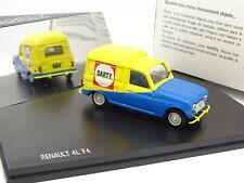 Norev 1/43 - Renault 4 4L F4 Darty