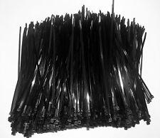 1000 pcs 11 inch 50 lb Black Uv Cable Tie (Metric 300 x 4.8) Material Nylon 6/6
