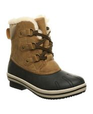 Bearpaw Pawz Womens Size 5 Ginnie Boots Cozy Faux Shearling Water Resistant $79