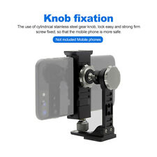 Portable Metal Phone Tripod Mount 360°Rotation Phone Clip use For Live Streaming