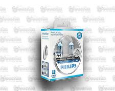 PHILIPS White Vision H4 4300K kit lampade effetto xenon cod. 12342