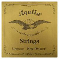 AQUILA UKULELE STRINGS SOPRANO 4U REGULAR TUNING NYLGUT KEY OF C SUPERIOR SOUND
