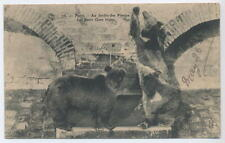 French Card Bears at jardin des Plantes by  Royer - Nancy; Teddy Bear theme