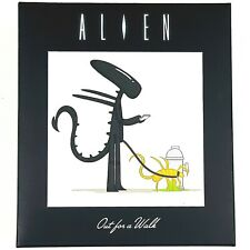 More details for alien next door out for a walk jo3bot xenomorph facehugger figure loot crate