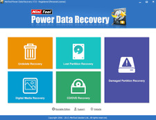 MiniTool Power 7.0 Data Recovery Pro edition+License Key +installation Assist