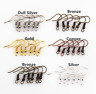 500Pcs Silver/Gold Plated Earring Hook Coil Ear Wire For Jewelry Making Findings