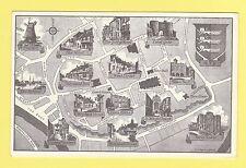 MAP  -  D.  V.  BENNETT  LTD.  OF  MAIDSTONE  POSTCARD  -  RYE  -  1976