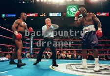 MIKE TYSON BUSTER DOUGLAS TKO Poster Boxing Heavyweight Boxing Poster 36 x 24